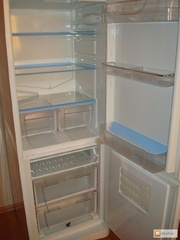 Холодильник Indezit-B16NF,  двухкамерный,  рабочий